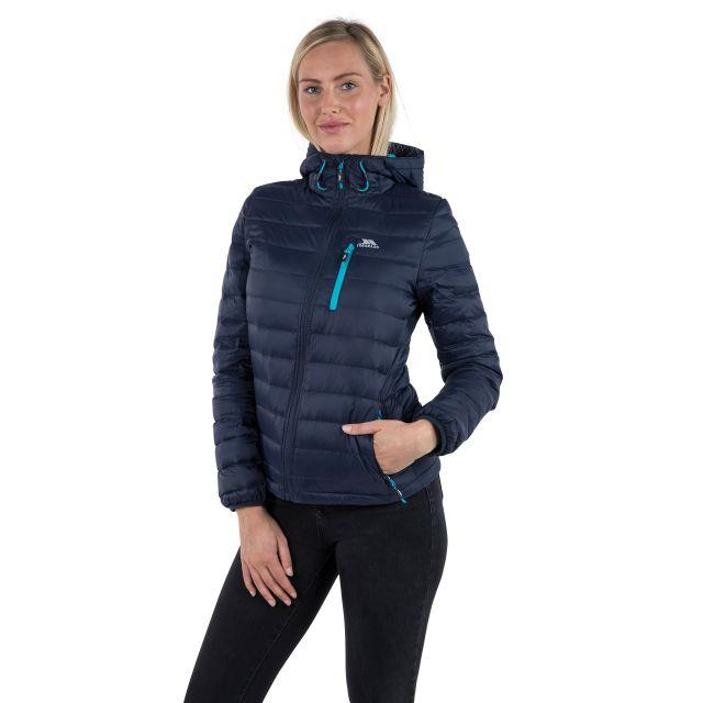 Arabel Women's Hooded Down Packaway Jacket - NA1