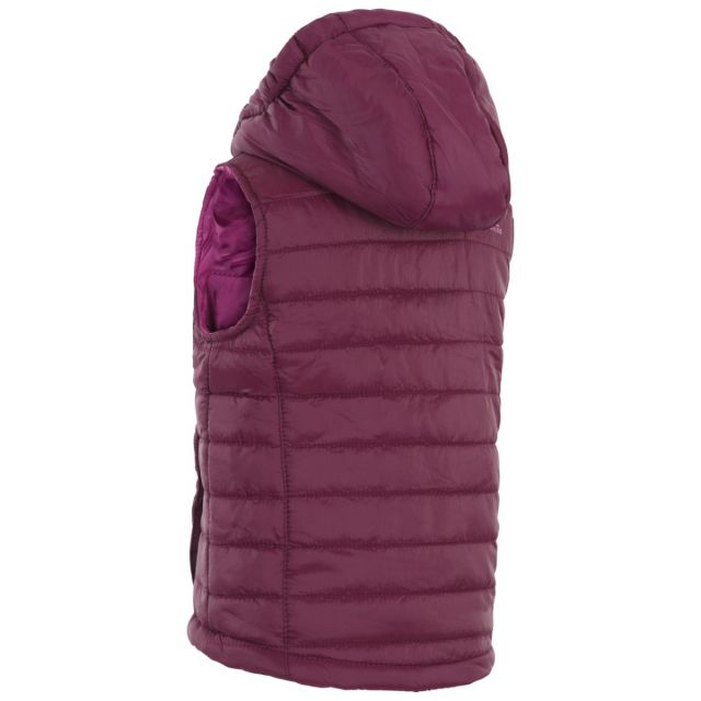 Aretho Kids' Lightly Padded Gilet in Purple
