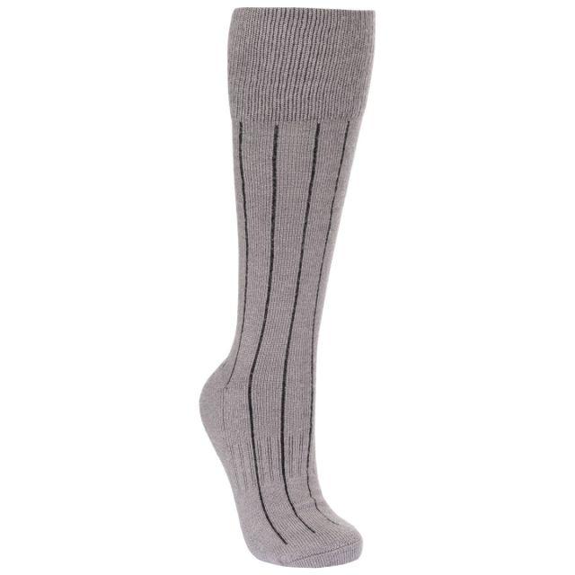 Trespass Unisex Walking Socks in Grey Aroama