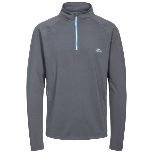 Arowson Men's Quick Dry Active Top in Grey