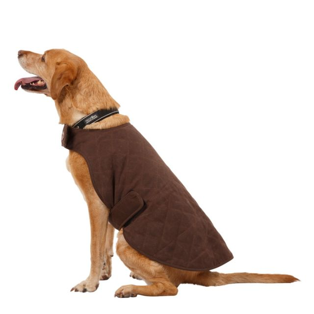 Artemis Water Resistant Diamond Quilted Dog Jacket - BARK L