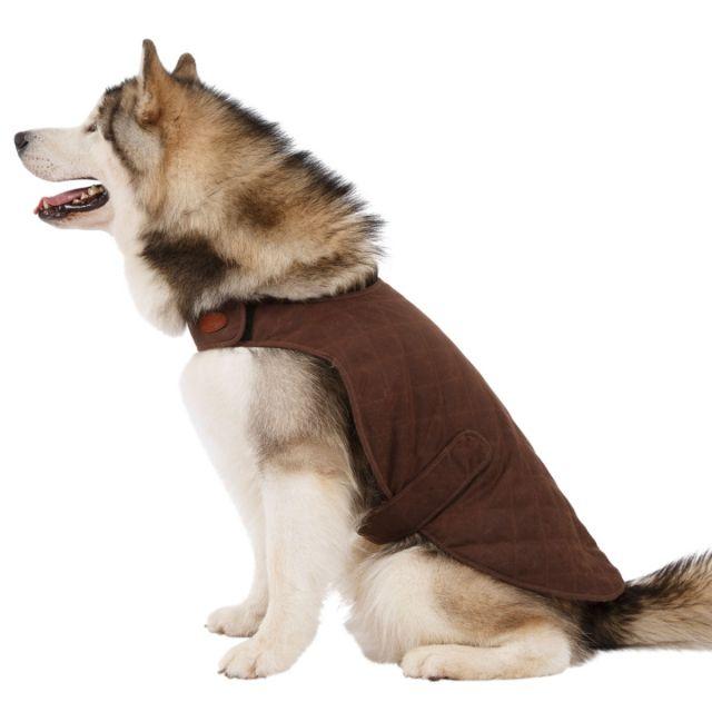 Artemis Water Resistant Diamond Quilted Dog Jacket - BARK XL
