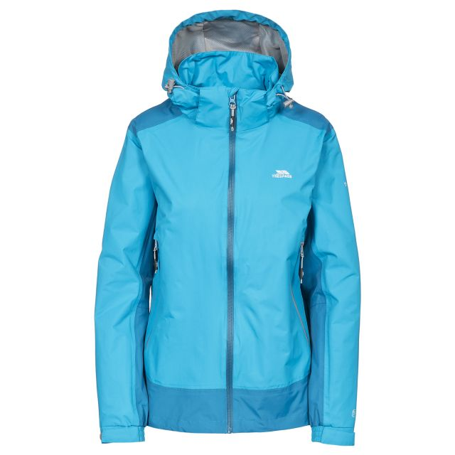 Trespass Womens Waterproof Jacket Asha in Blue