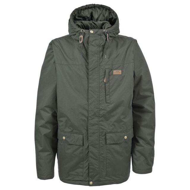 ASTON Mens Waterproof Jacket in Khaki
