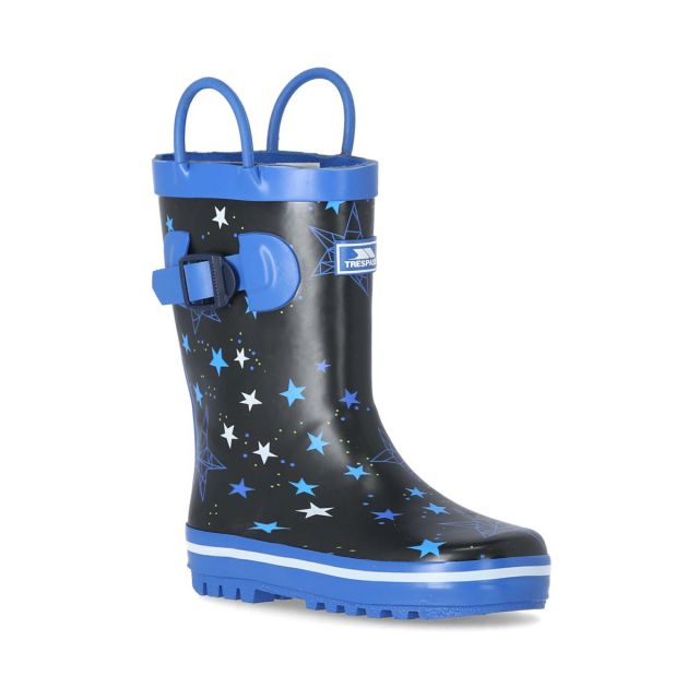 Astron Kids' Printed Wellies in Blue