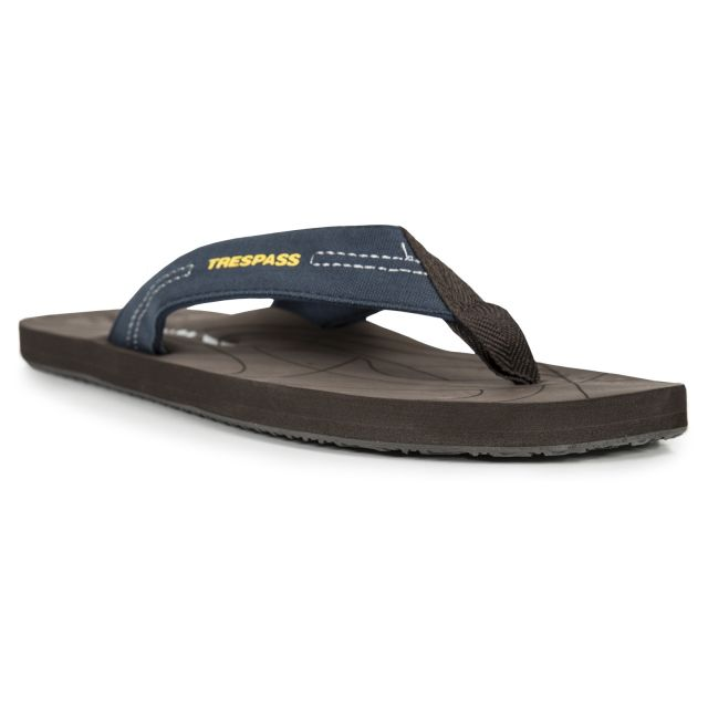 Atticus Men's Flip Flops in Navy
