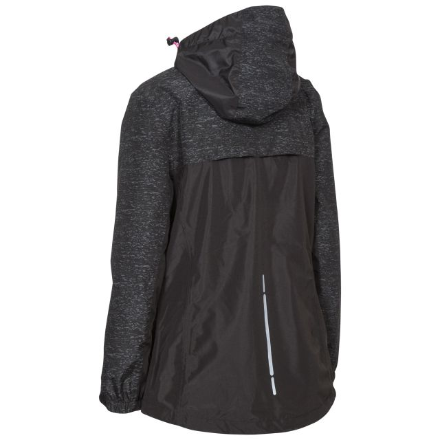 Attraction Women's Breathable Waterproof Jacket in Black