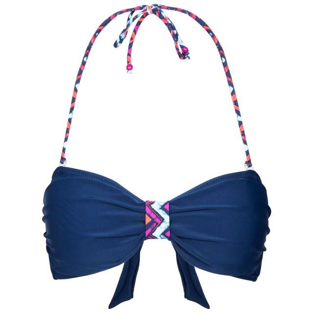 Aubrey Women's Halterneck Bikini Top in Navy
