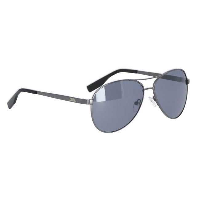 Aviator Unisex Sunglasses in Grey