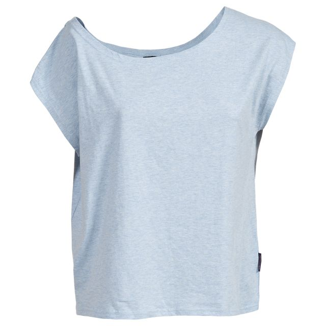 Bacall Women's Casual Top in Light Blue