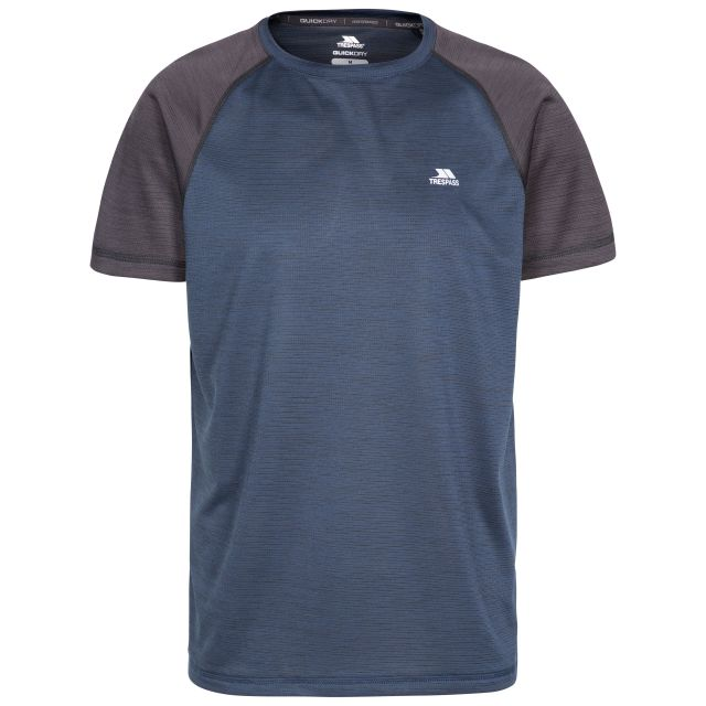 Bagbruff Men's Active T-Shirt in Navy