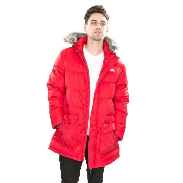 Baird Men's Down Parka Jacket - RED