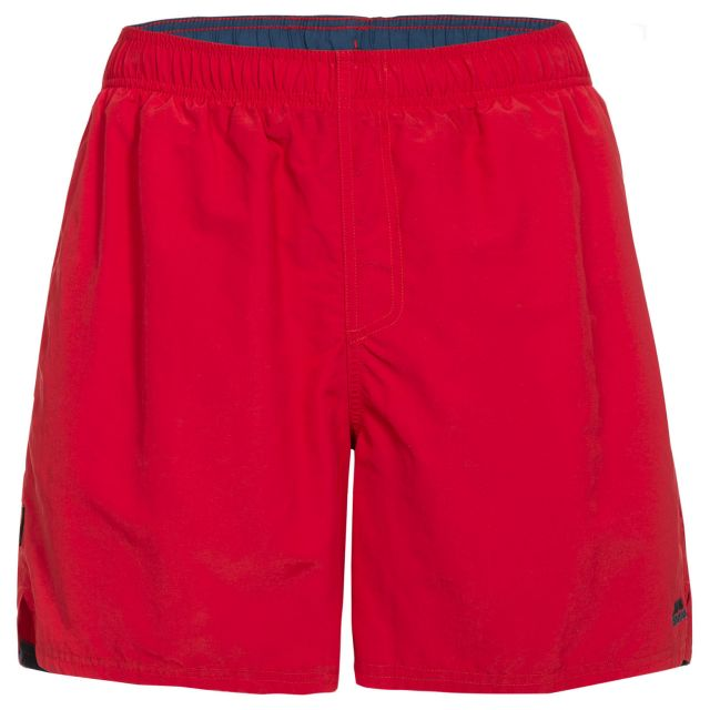Baki Men's Swim Shorts - RED