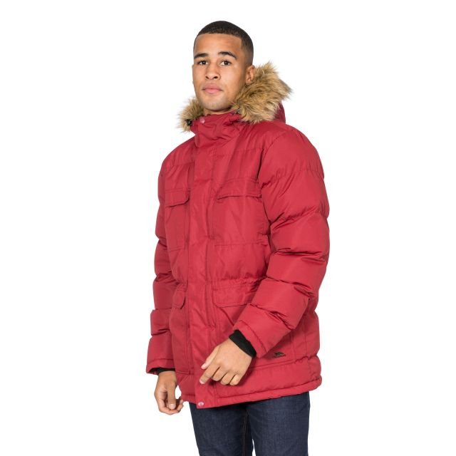 Baldwin Men's Padded Parka Jacket - MER