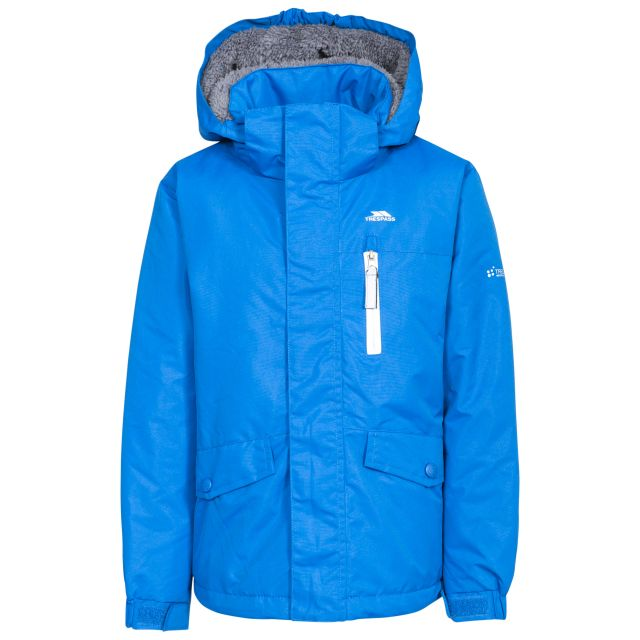 Ballast Kids' Padded Waterproof Jacket in Blue