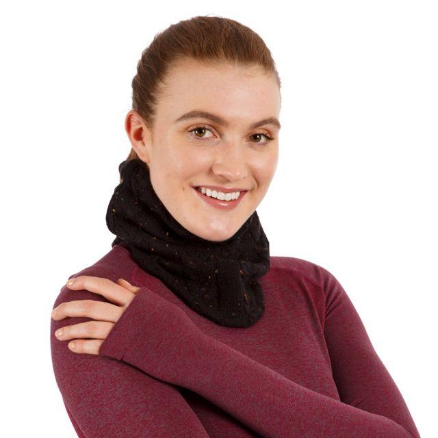 Unisex Adjustable Neck Warmer Black