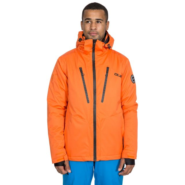 Banner Men's DLX Waterproof RECCO Ski Jacket in Orange
