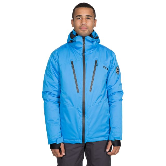 Banner Men's DLX Waterproof RECCO Ski Jacket in Blue