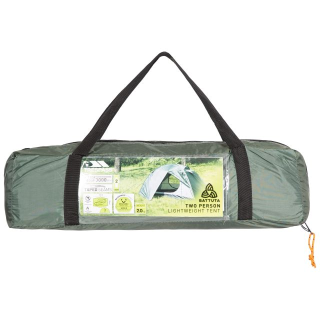 Battuta 2 Person Waterproof Backpacking Tent in Khaki