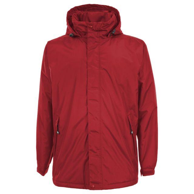 Bayfield Men's Waterproof Padded Jacket in Red