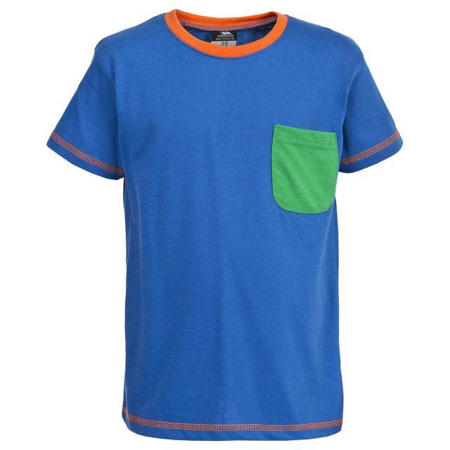 Baylor Kids' Short Sleeve T-Shirt in Blue