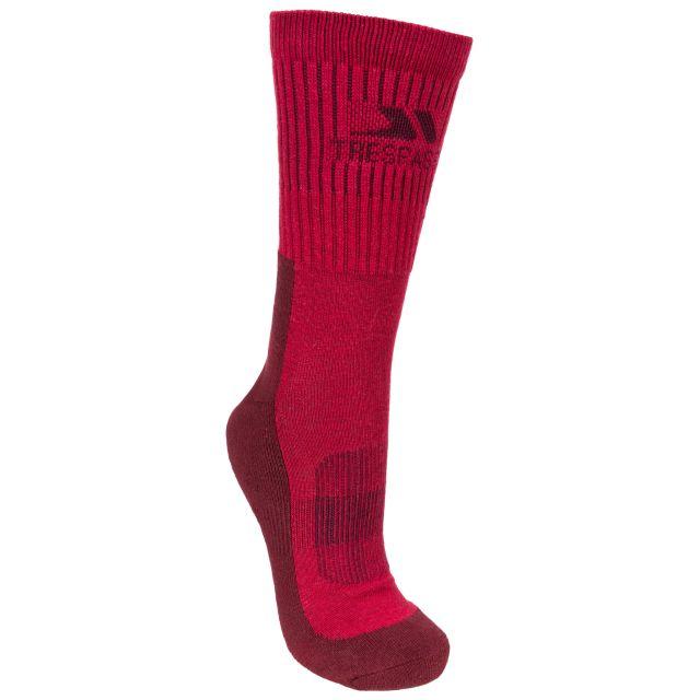 Bayton Women's Walking Socks in Pink