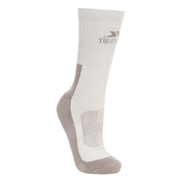 Bayton Women's Walking Socks in Beige