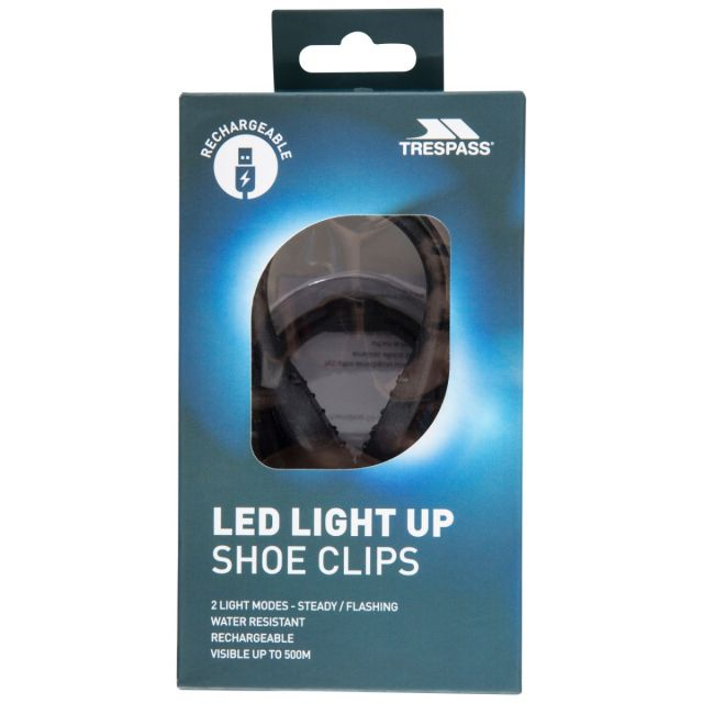 LED Shoe Clips in Black