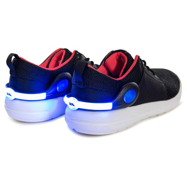 LED Shoe Clips in Black