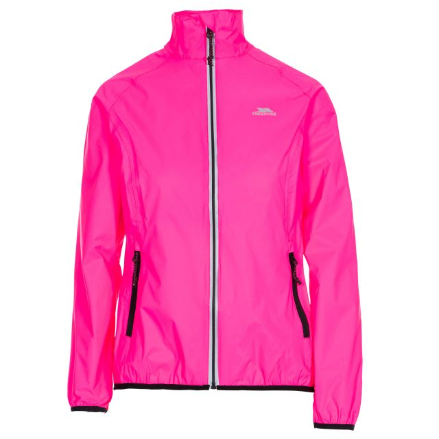 Beaming Women's Waterproof Packaway Jacket in Pink