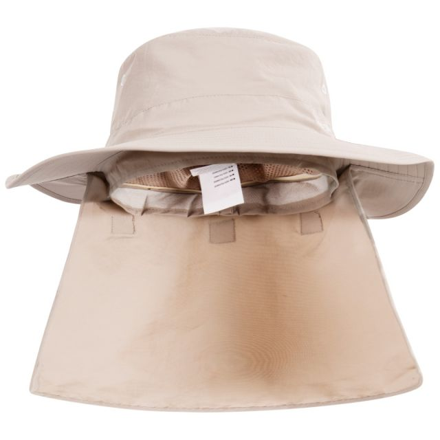 Bearing Adults' Quick Dry Bucket Hat in Beige