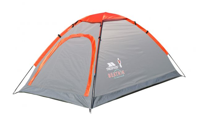 Beatnik Lightweight 2 Man Tent in Grey