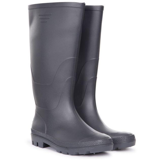 Trespass Men's Knee Length Welly Boots Beck Navy