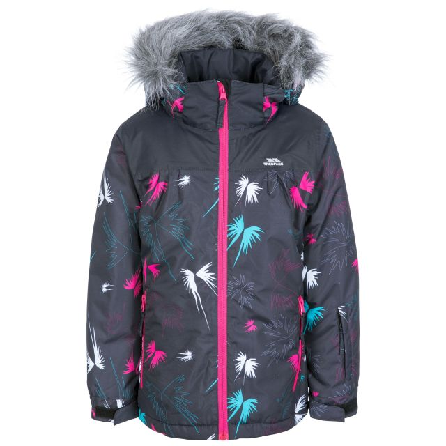Beebear Kids' Printed Ski Jacket in Black