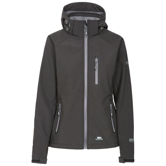 Bela II Women's Softshell Jacket in Black