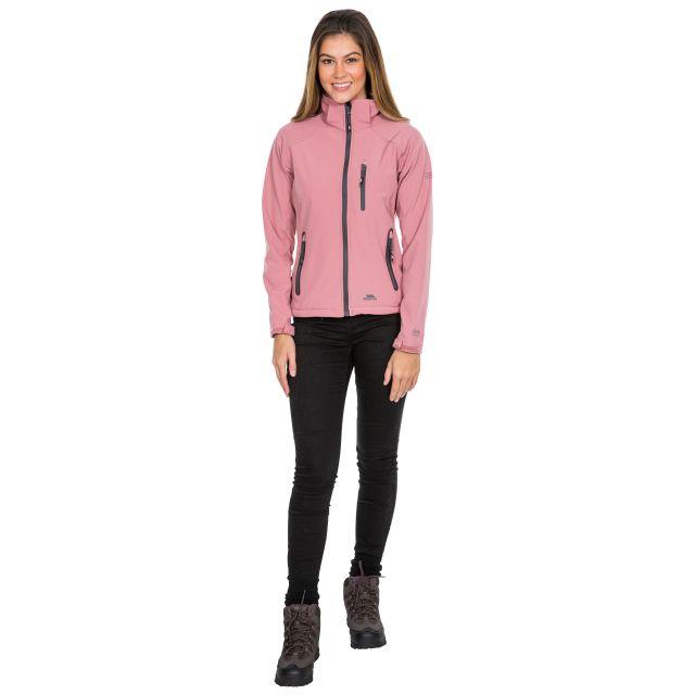 Trespass Womens Softshell Jacket Bela II Pink