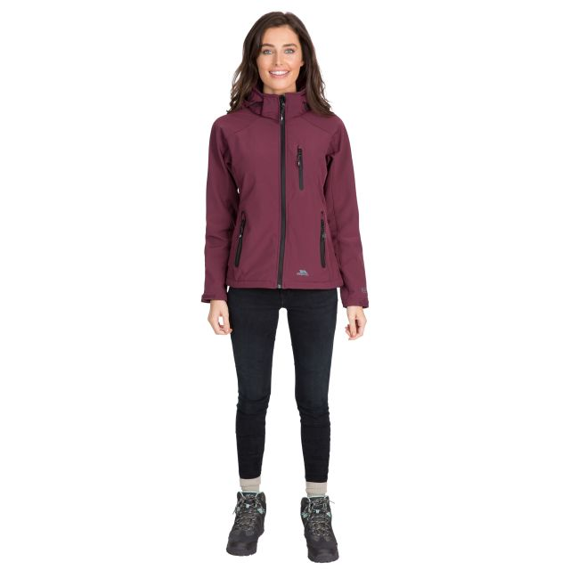 Trespass Womens Softshell Jacket Bela II Fig