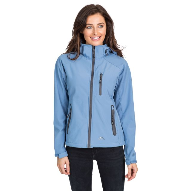 Bela II Women's Softshell Jacket in Blue