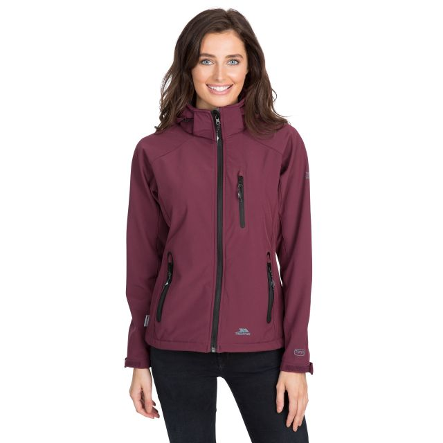 Bela II Women's Softshell Jacket in Purple