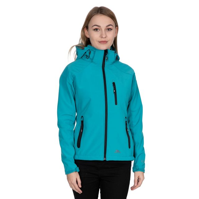 Trespass Womens Softshell Jacket Bela II Marine Blue