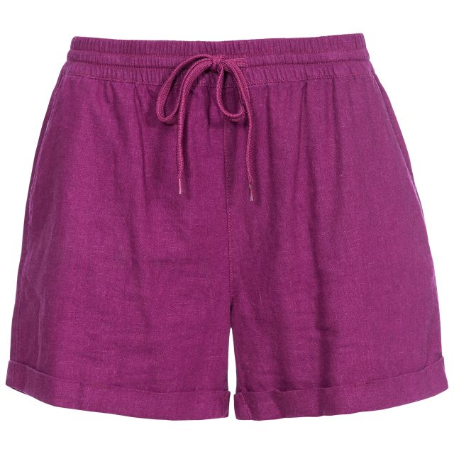 Belotti Women's Track Shorts  in Burgundy