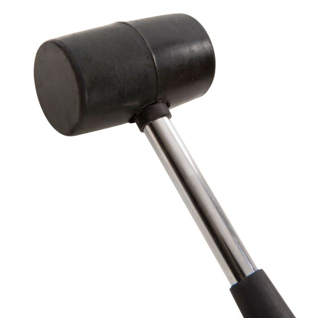 Rubber Mallet 290g in Black