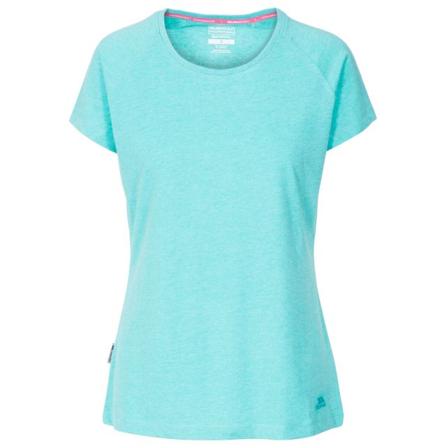 Benita Women's Crew Neck T-Shirt in Blue