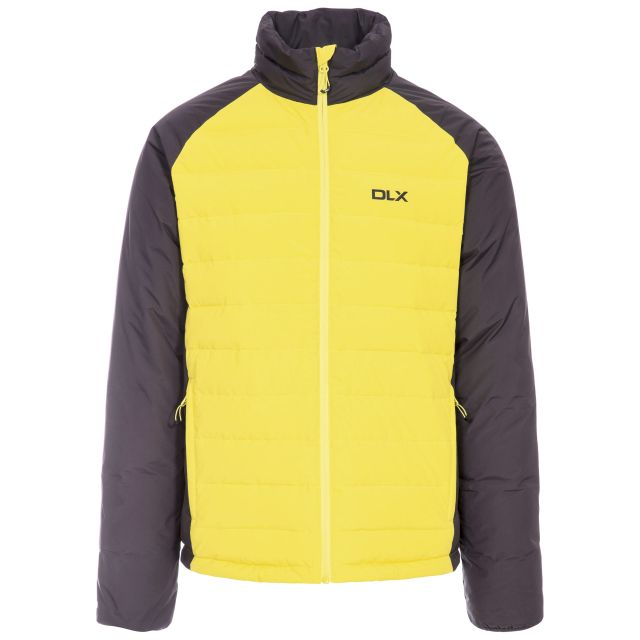 Benko Men's DLX Down Jacket in Neon Green