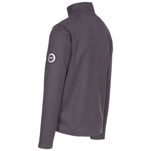 Benson Mens Fleece in Black