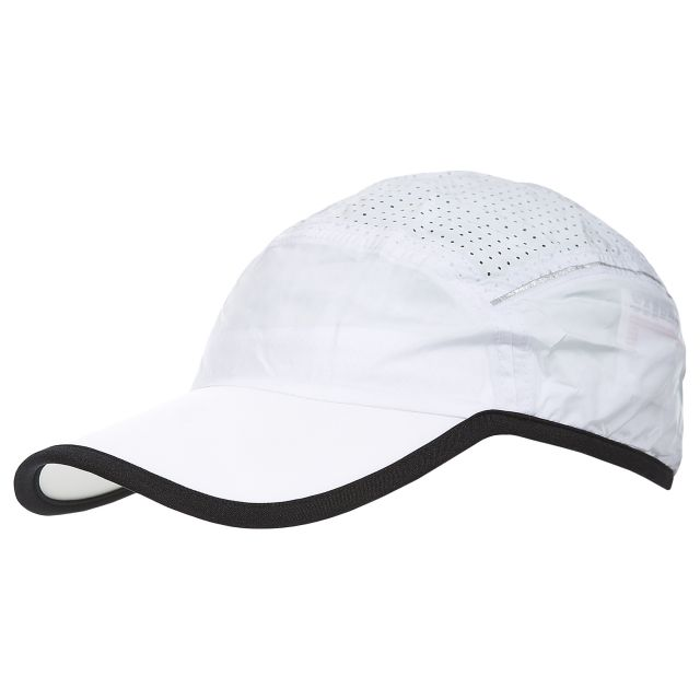 Benzie Unisex Adjustable Baseball Cap in White