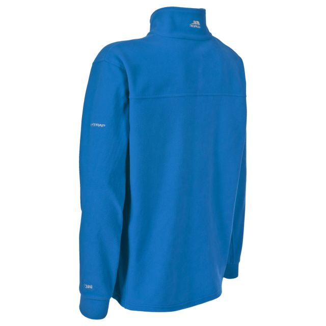 Bernal Men's Sueded Fleece Jacket in Blue