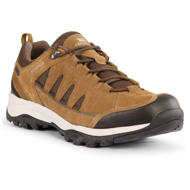 Trespass Mens Walking Shoe Bernera - TAU, Angled view of footwear