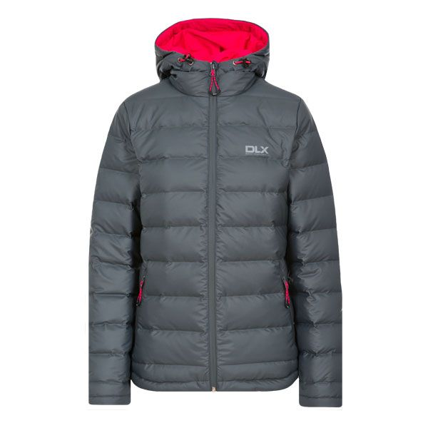 Women's DLX Down Jacket in Grey