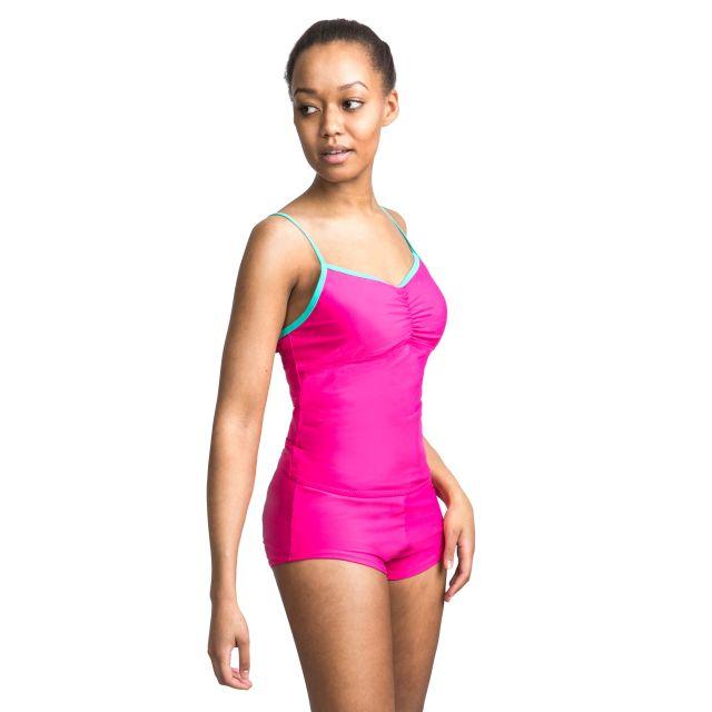 Darcie Women's Tankini Top in Pink